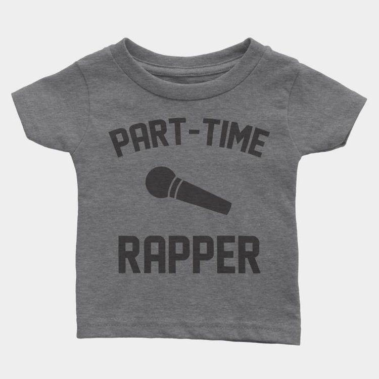 Shop Good Part-Time Rapper Kids Tee
