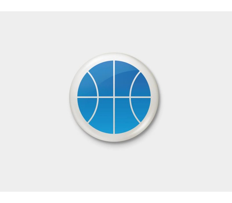 Blue Thunder Pinback Button