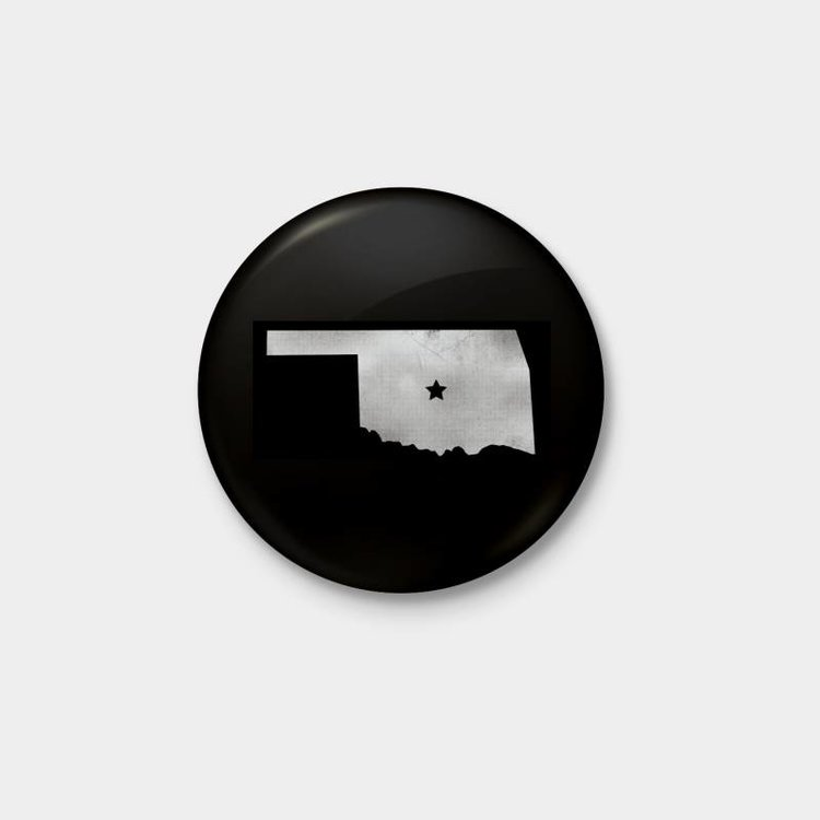 Shop Good Center of OK Pinback Button