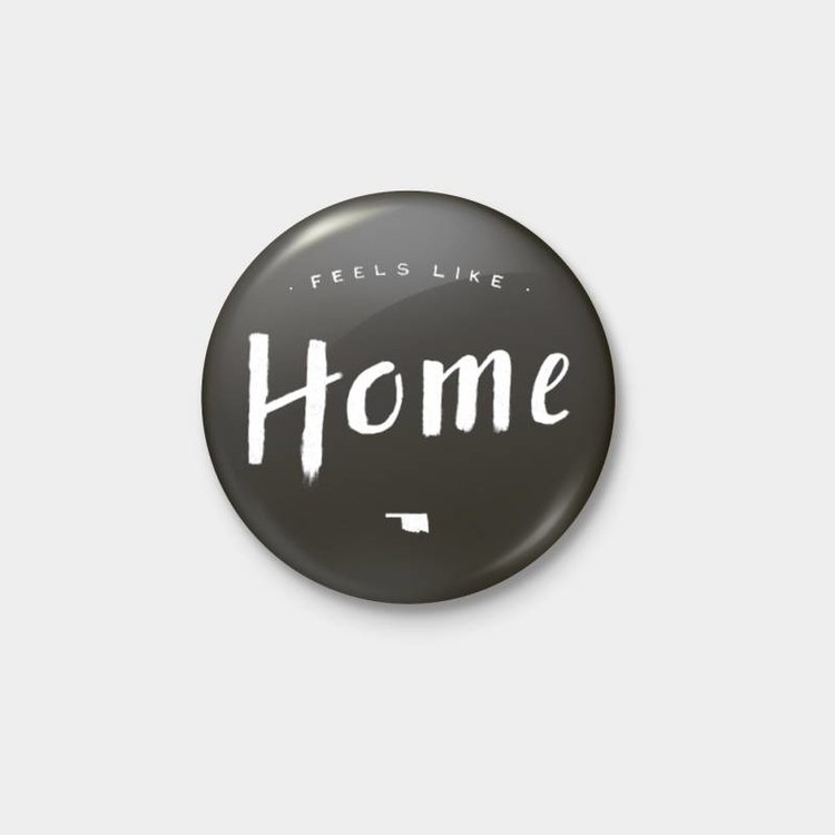 Shop Good: Buttons Feels Like Home Pinback Button