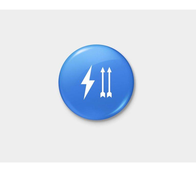Thunder Up Pinback Button