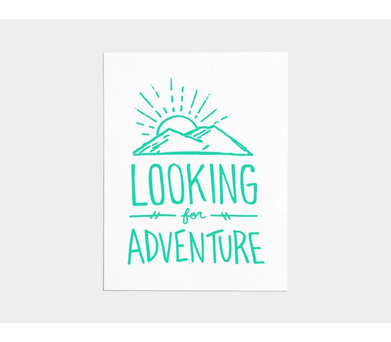 Looking for Adventure Card
