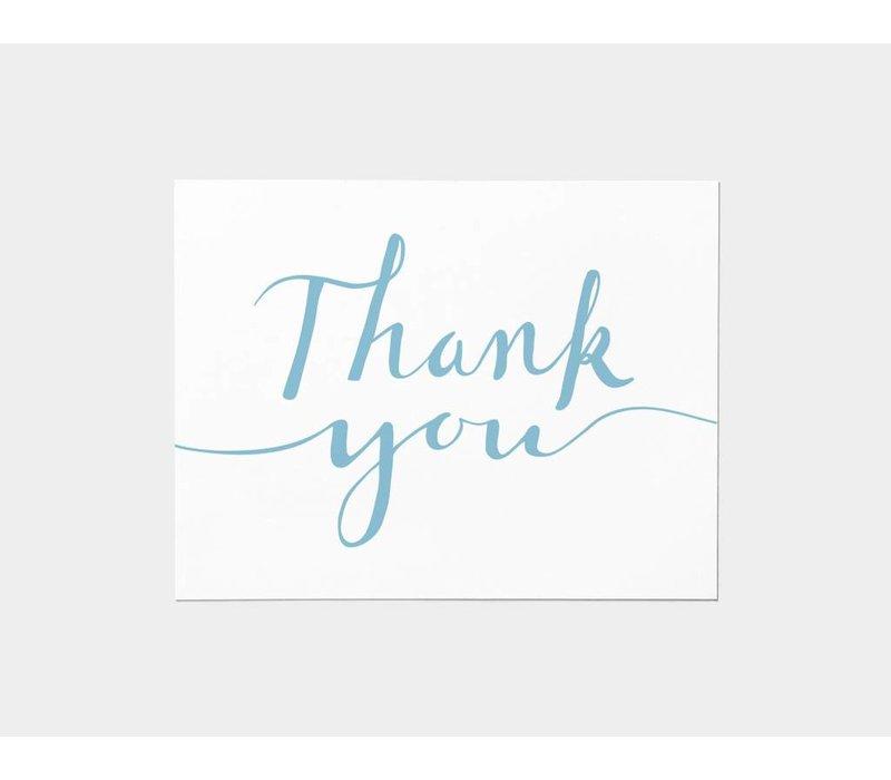 Thank You Script Card