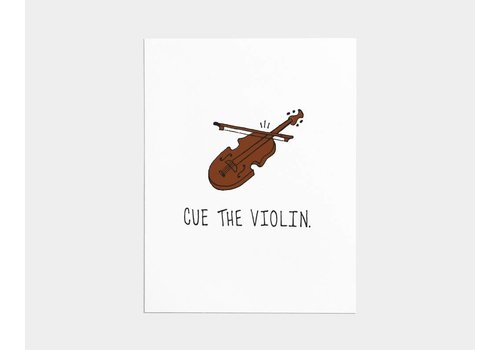 Shop Good Cue the Violin Card