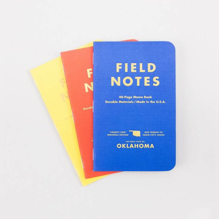 Field Notes Field Notes - Oklahoma County Fair 3-Pack