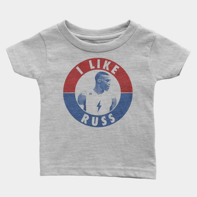 Shop Good I Like Russ Kids Tee