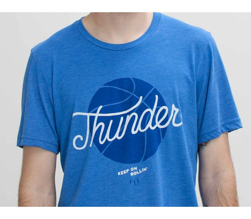 Thunder Basketball Tee