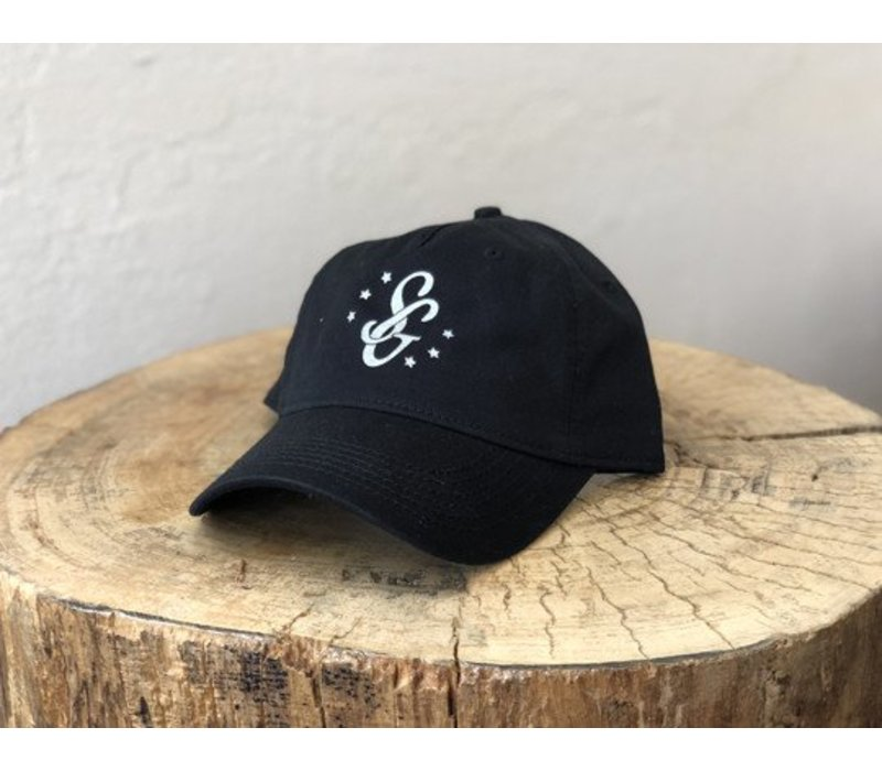 SG Monogram Hat Black