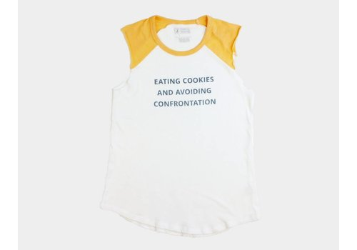 Shop Good Cookies & Confrontation Womens Jersey Tank