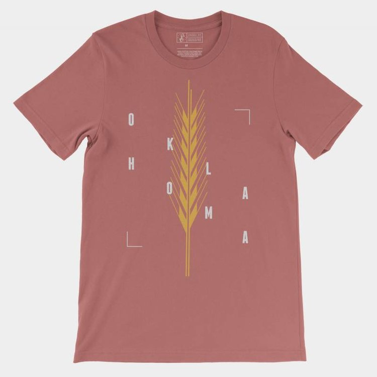 Shop Good Golden Wheat Tee Mauve