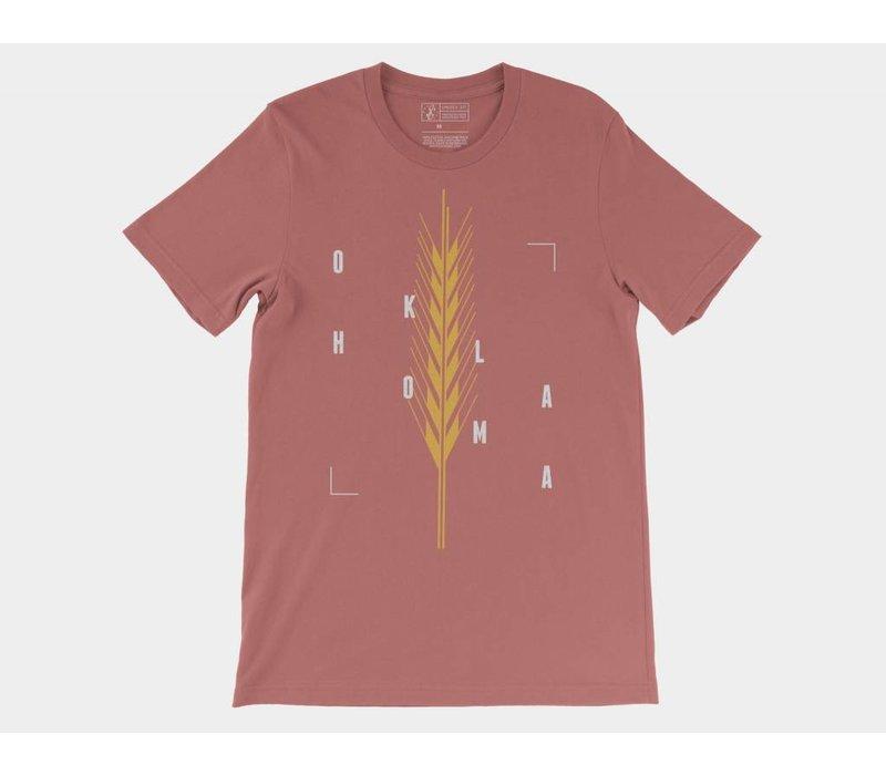 Golden Wheat Tee Mauve