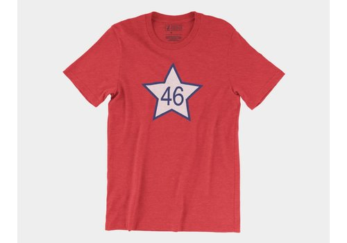 Shop Good OK46 Tee Heather Red