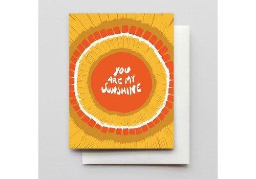 Hammerpress You Are My Sunshine Card