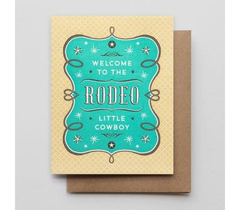 Welcome to The Rodeo Cowboy Card