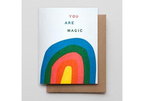 Hammerpress You Are Magic Card