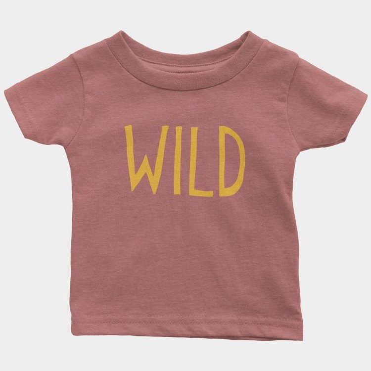 Shop Good Wild Kids Tee Mauve Triblend