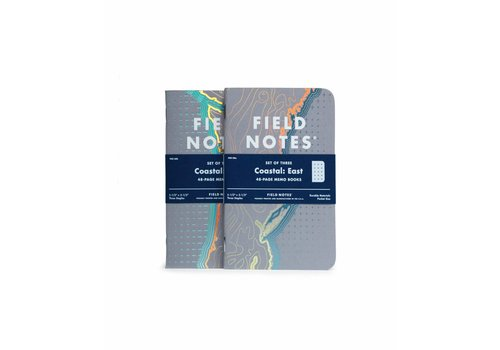 Field Notes Field Notes - Coastal: East 3-Pack