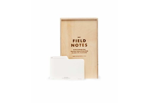 Field Notes Field Notes - Archival Wooden Box