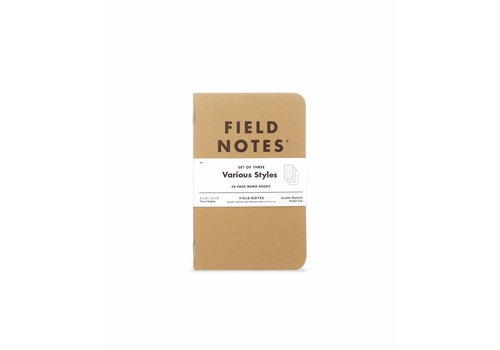 Field Notes Field Notes - Original 3-Pack