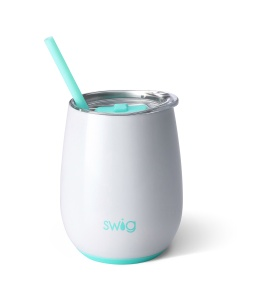 Swig Swig 14oz Wine Cup Diamond White