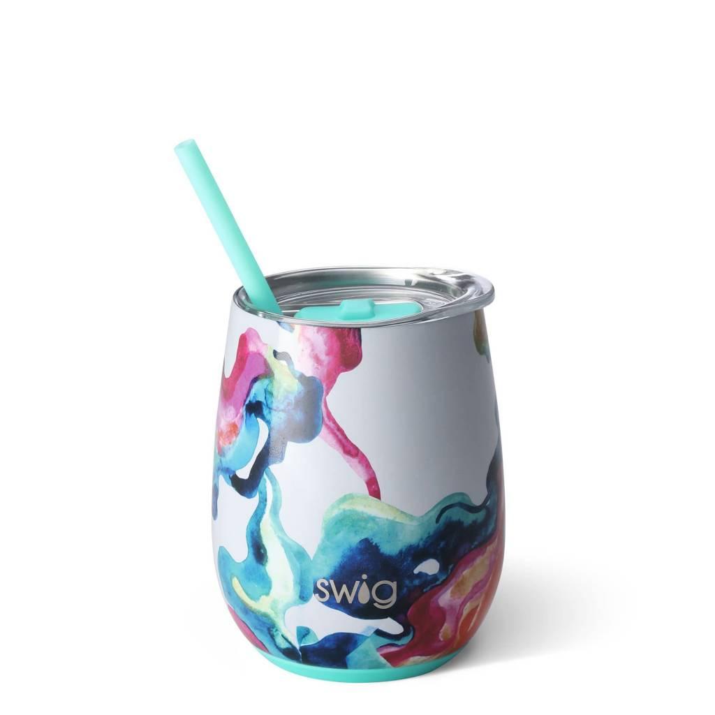 Swig Swig 14oz Wine Cup- Color Swirl
