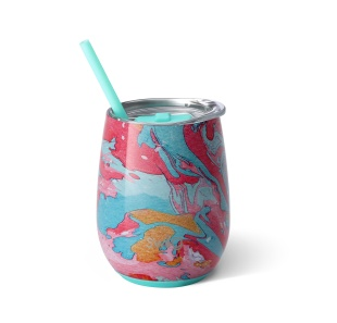 Swig Swig 14oz Wine Cup Cotton Candy