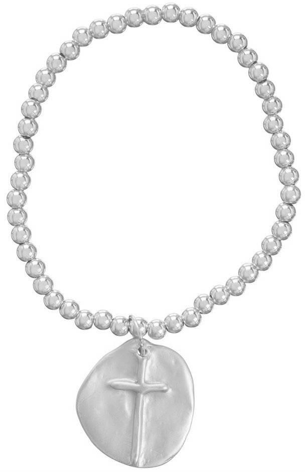 Enewton Classic Sterling 4mm Bead Bracelet Inspire Sterling Charm