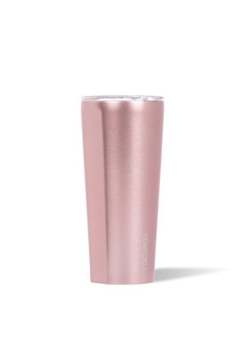 Corkcicle Metallic Rose 24oz Tumbler