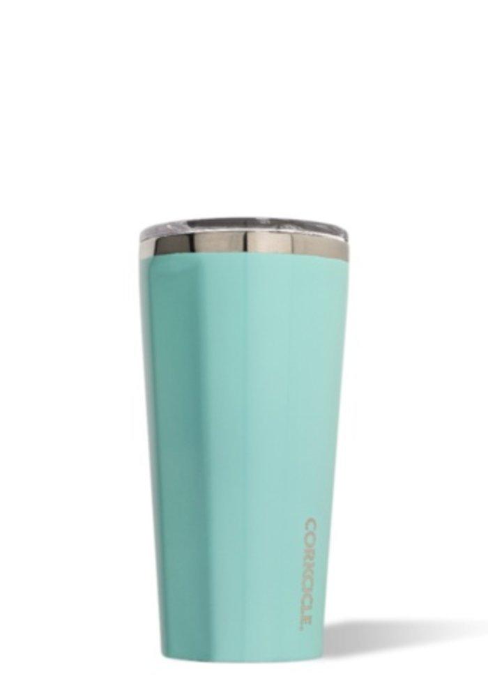 Gloss Turquoise 16oz Tumbler