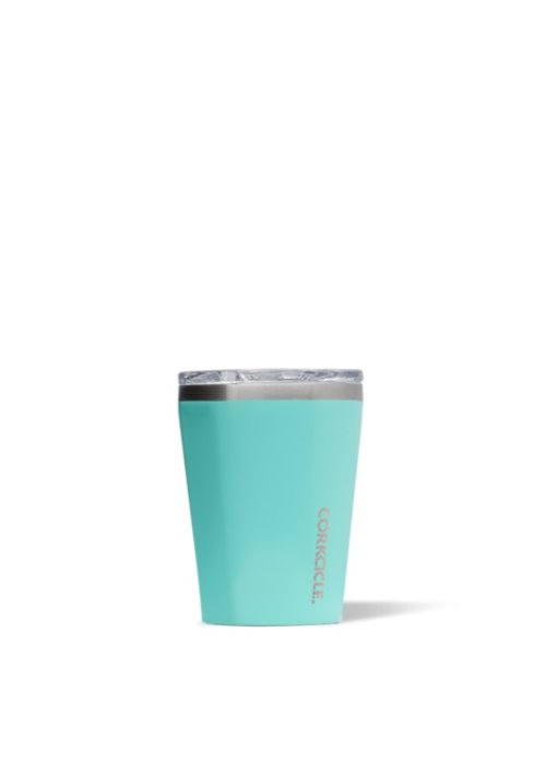 Corkcicle Gloss Turquoise 12oz Tumbler