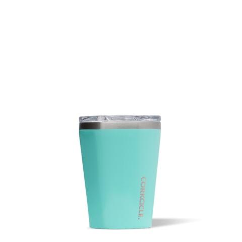 Corkcicle Gloss Turquoise 12oz Tumbler