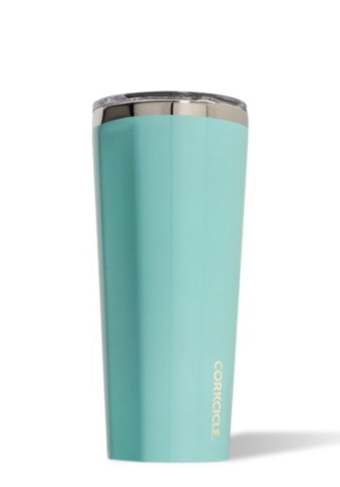 Gloss Turquoise 24oz Tumbler