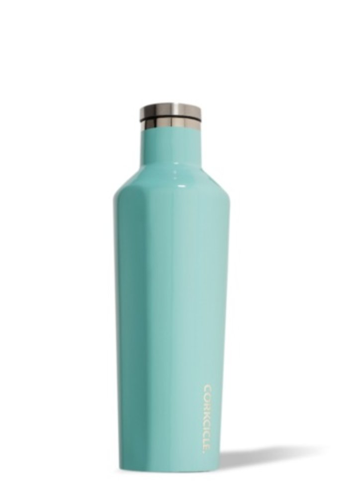 Gloss Turquoise 16oz Canteen
