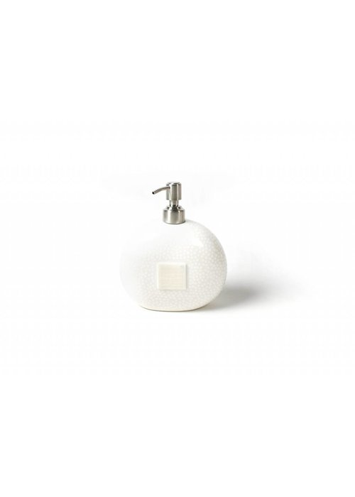 Happy Everything White Small Dot Mini Soap Pump