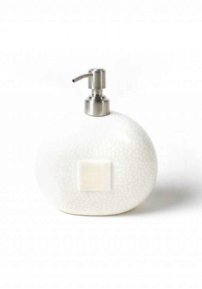 White Small Dot Mini Soap Pump