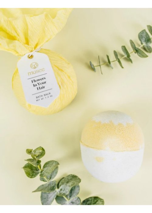 Musee Bath Flowers in Your Hair Bath Bomb