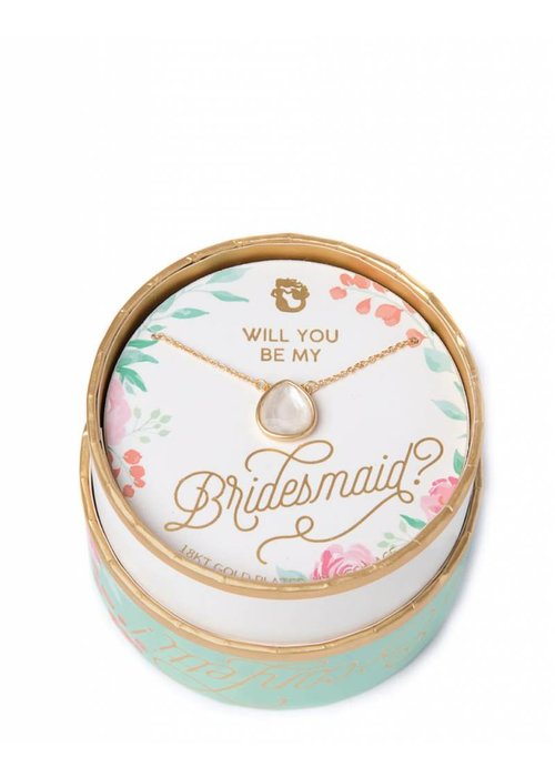 Spartina 449 Sea La Vie Bridesmaid Necklace Pearlescent