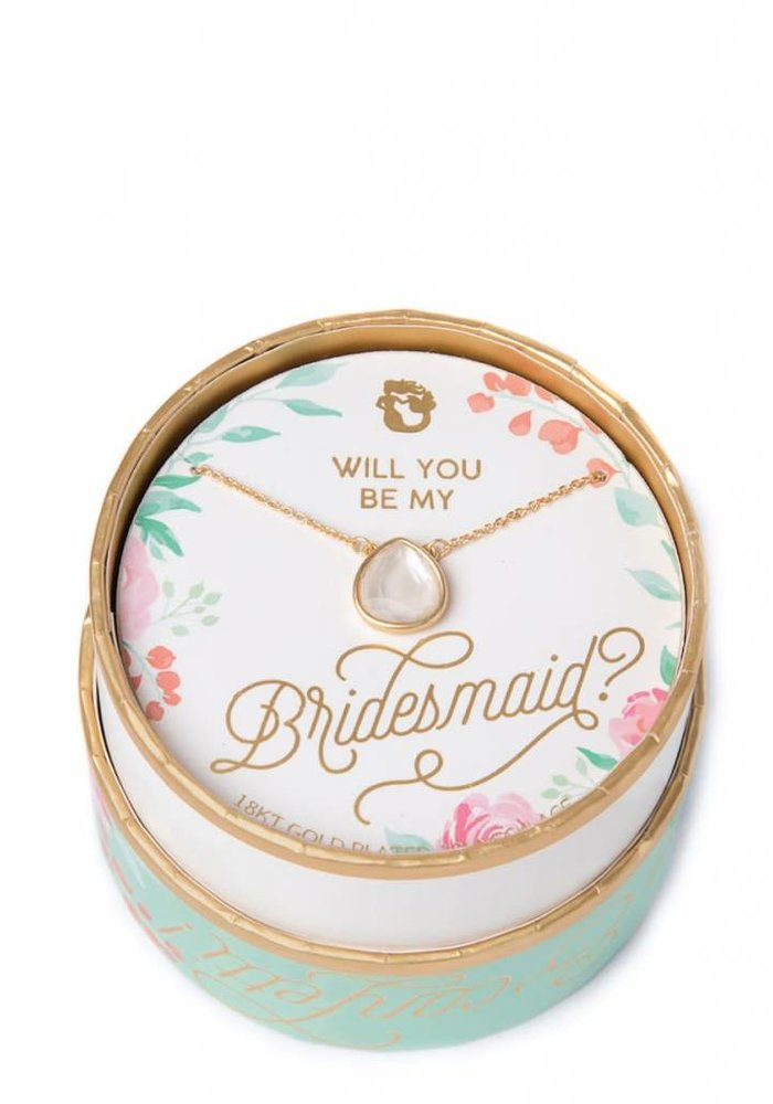 Sea La Vie Bridesmaid Necklace Pearlescent