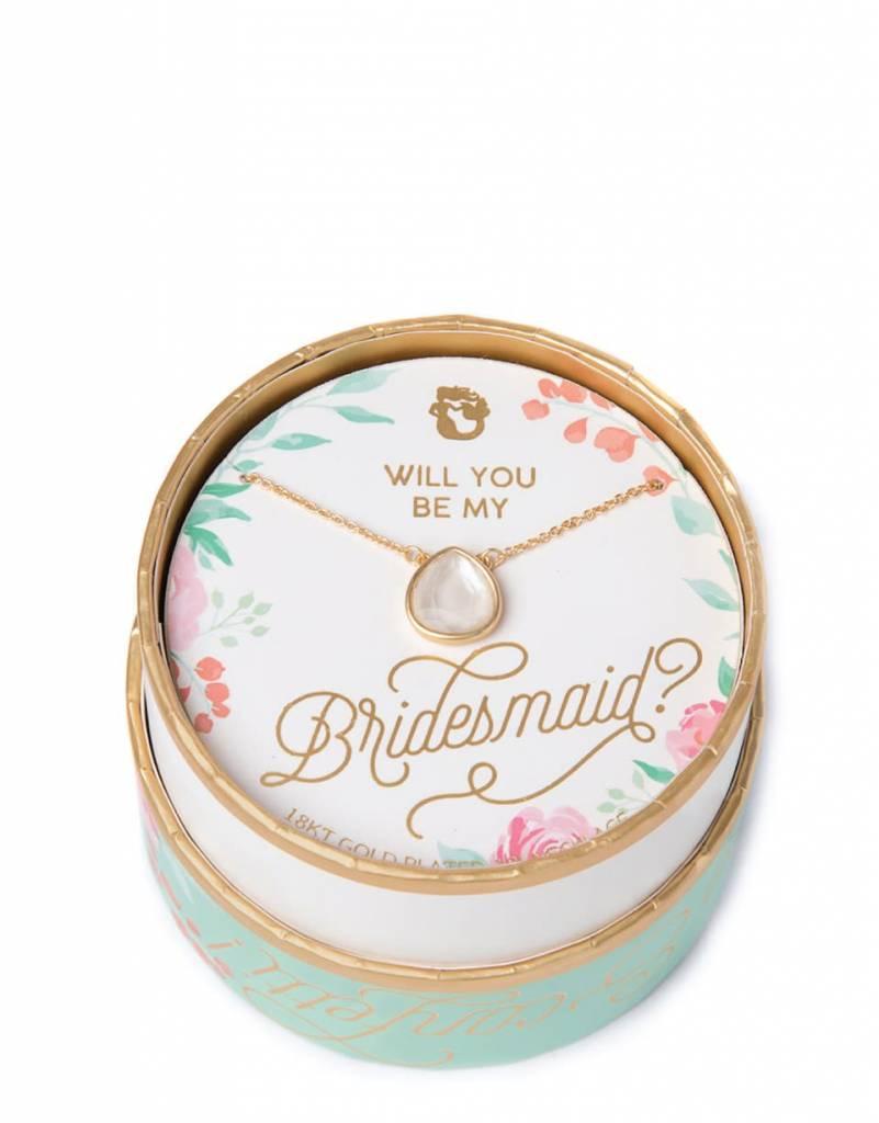 Spartina 449 Sea La Vie Bridesmaid Necklace Pearlescent