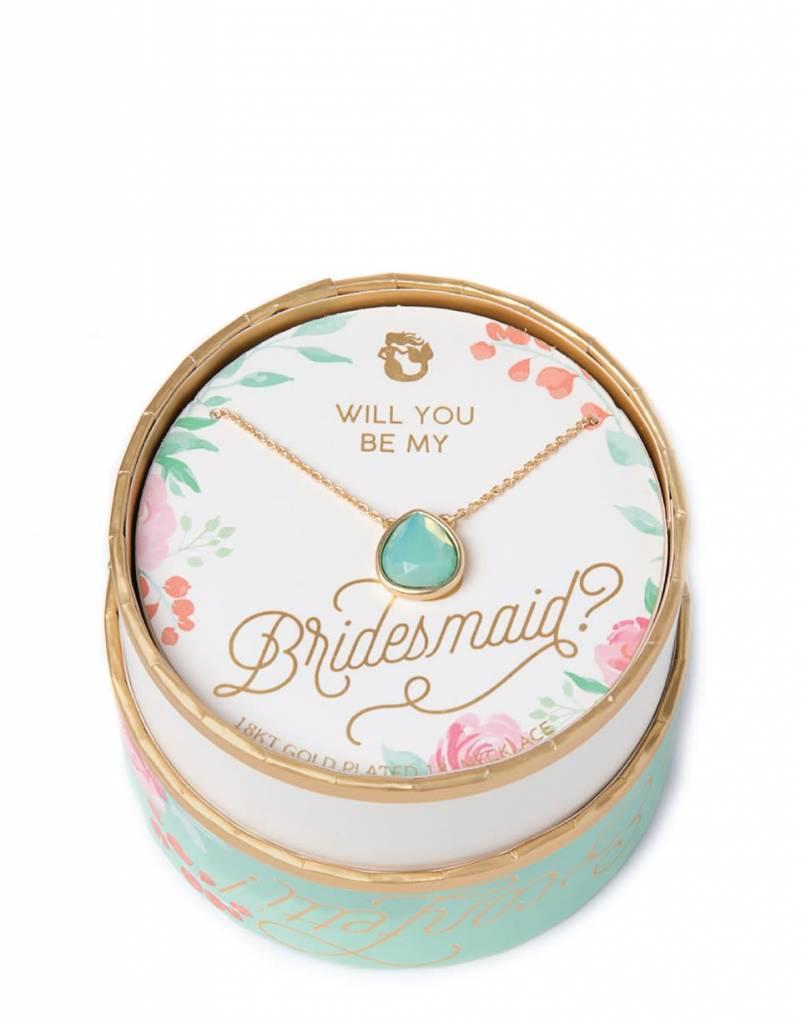 Spartina 449 Sea La Vie Bridesmaid Necklace Something Blue