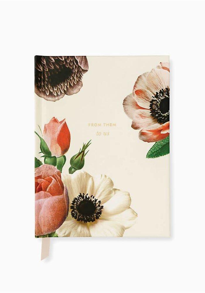 KS Blushing Floral Bridal Gift Log
