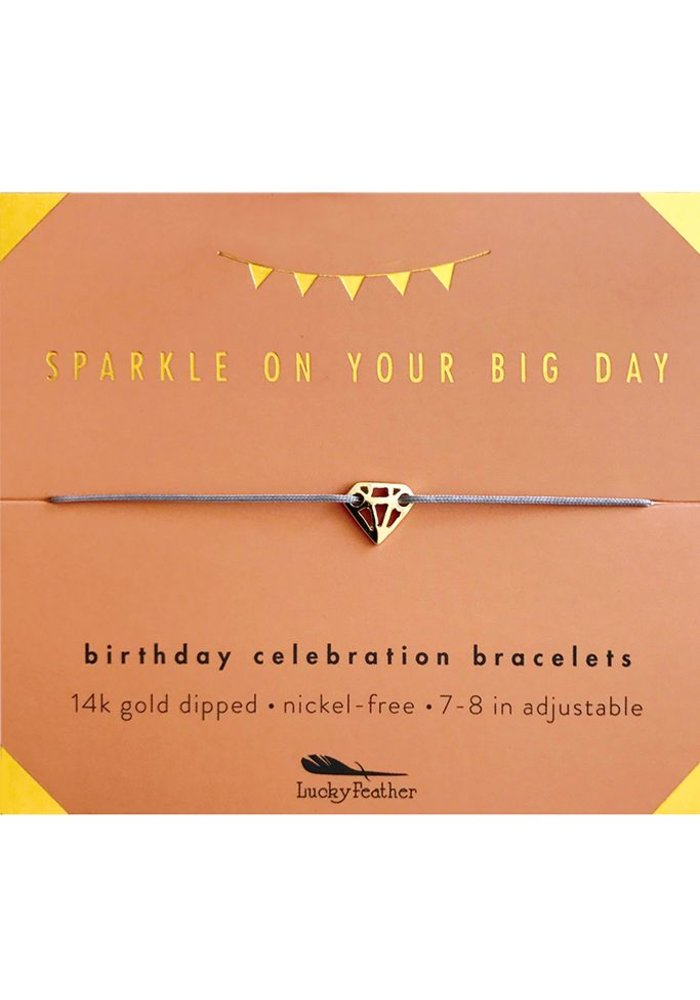 Sparkly Birthday Celebration Bracelet