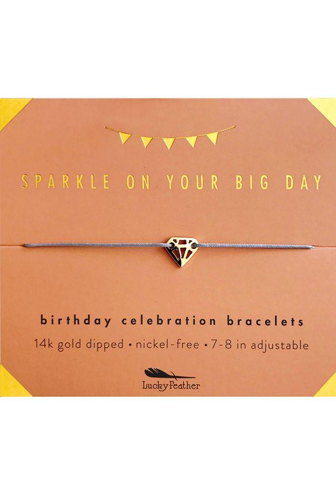 Sparkly Birthday Celebration Bracelet