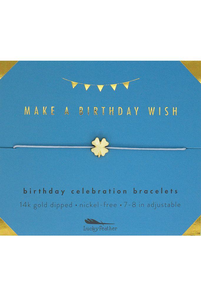 Birthday Wish Birthday Celebration Bracelet