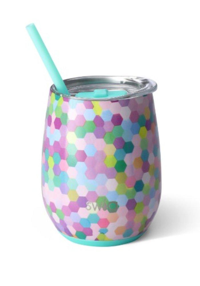 Swig 14oz Wine Cup Confetti Party