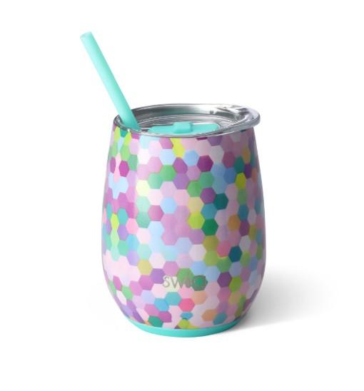 Swig Swig 14oz Wine Cup Confetti Party