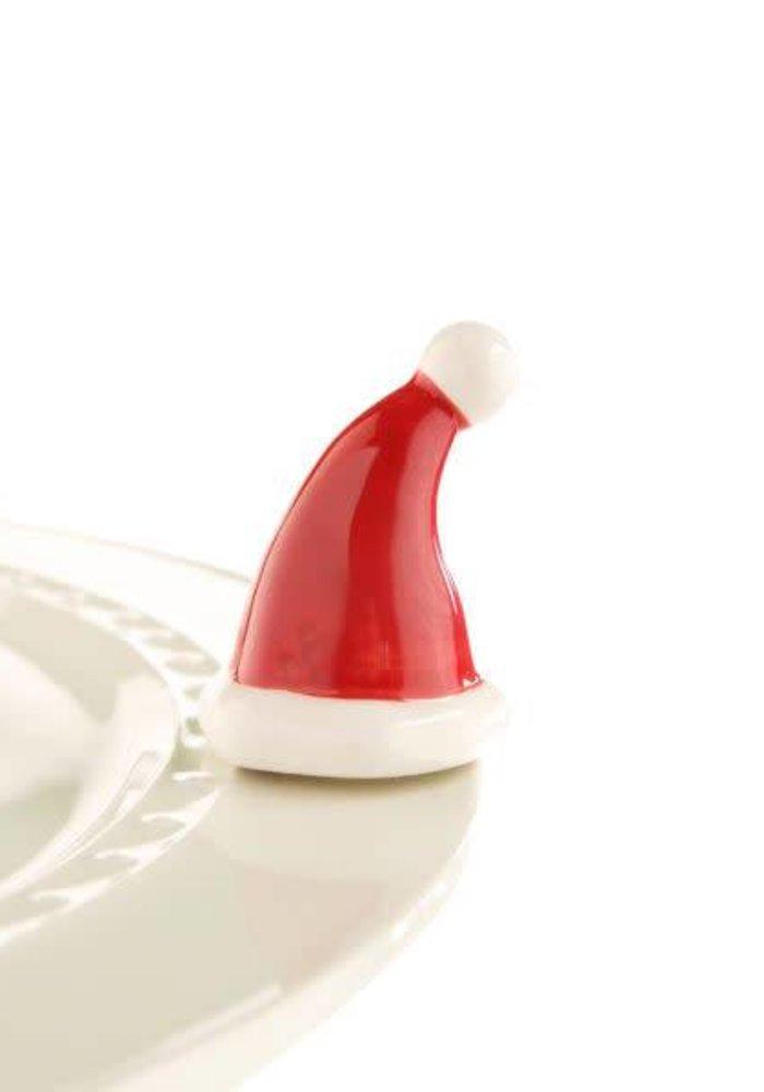 Santa Stops Here Nora Fleming Mini