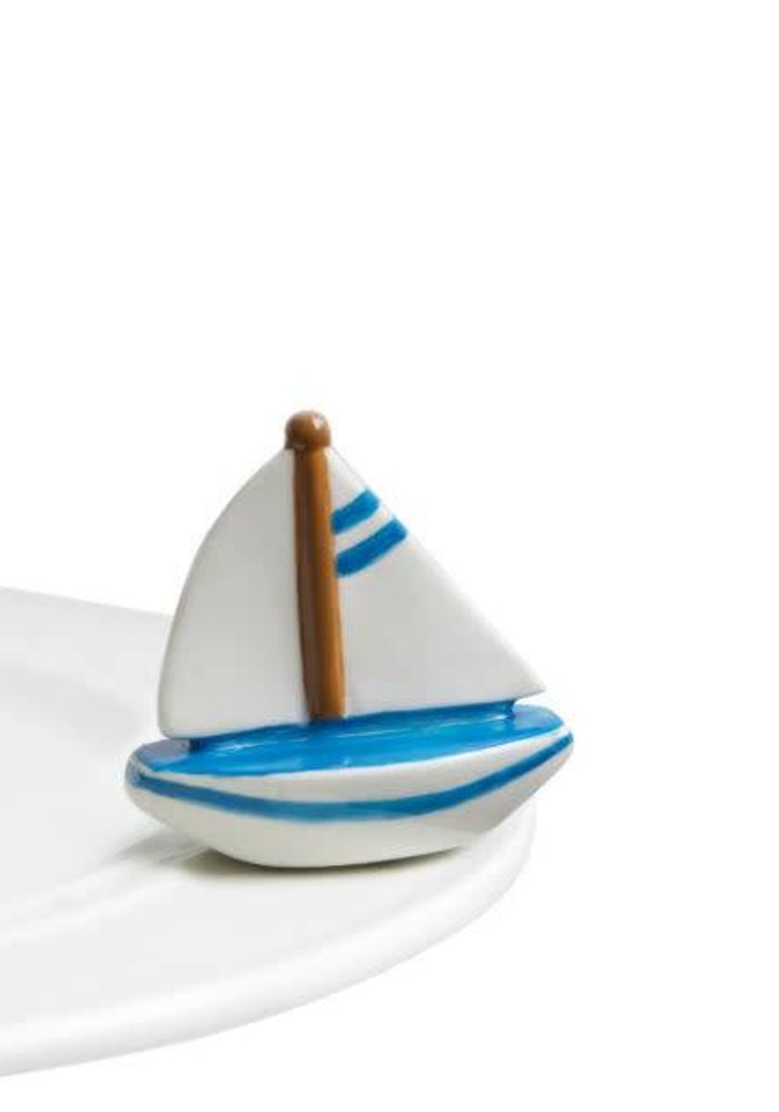 Sail Me Away Sailboat Nora Fleming Mini