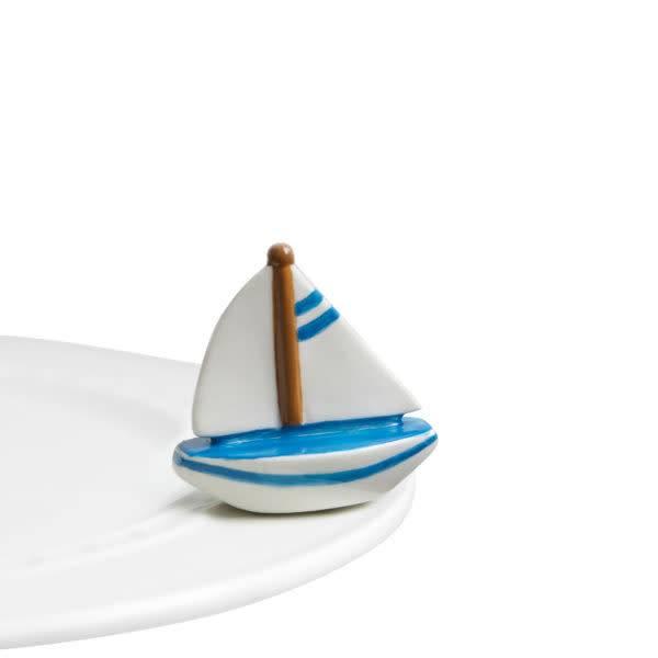 Nora Fleming Sail Me Away Sailboat Nora Fleming Mini