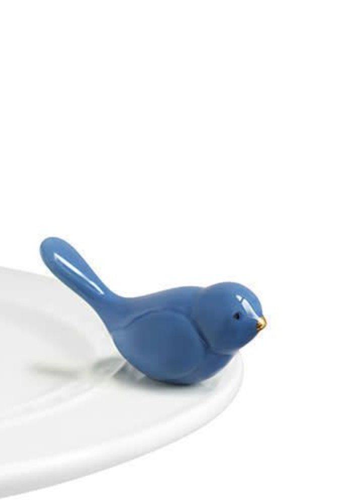 Blue Bird of Happiness Nora Fleming Mini